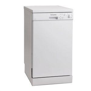 Montpellier DW1064P-2 Freestanding Slimline Dishwasher