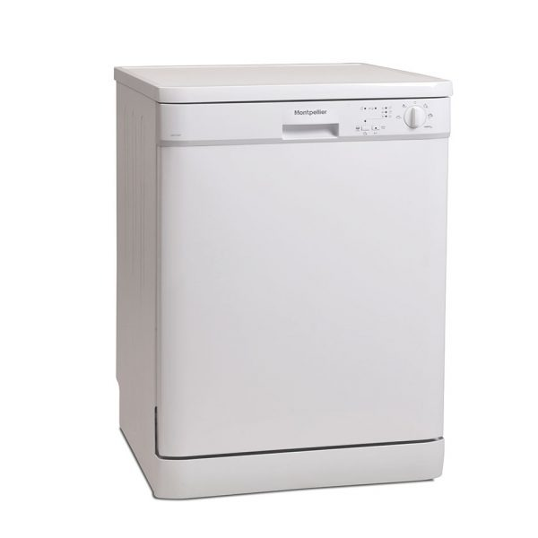 Montpellier DW1254P Freestanding Full Size Dishwasher