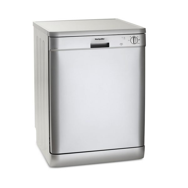 Montpellier DW1254S Freestanding Full size Dishwasher