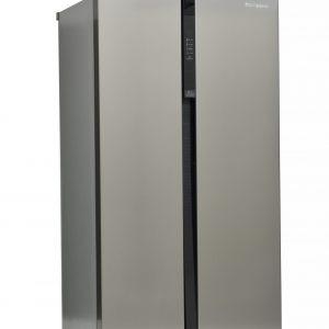 Montpellier M510BX Side-By-Side Fridge Freezer