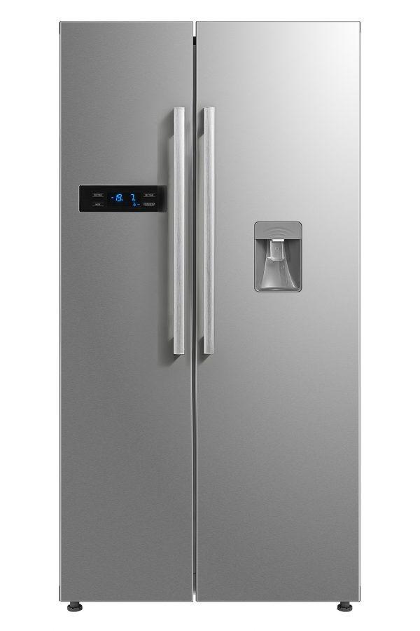 Montpellier M520WDX Side-By-Side Fridge Freezer