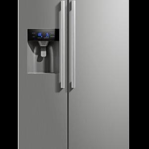 Montpellier M530PDIX Side-By-Side Fridge Freezer – Plumbed Ice & Water Dispenser