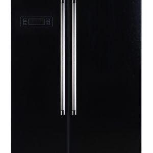 Montpellier M605K Side-By-Side Fridge Freezer