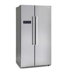 Montpellier M605X Side-By-Side Fridge Freezer