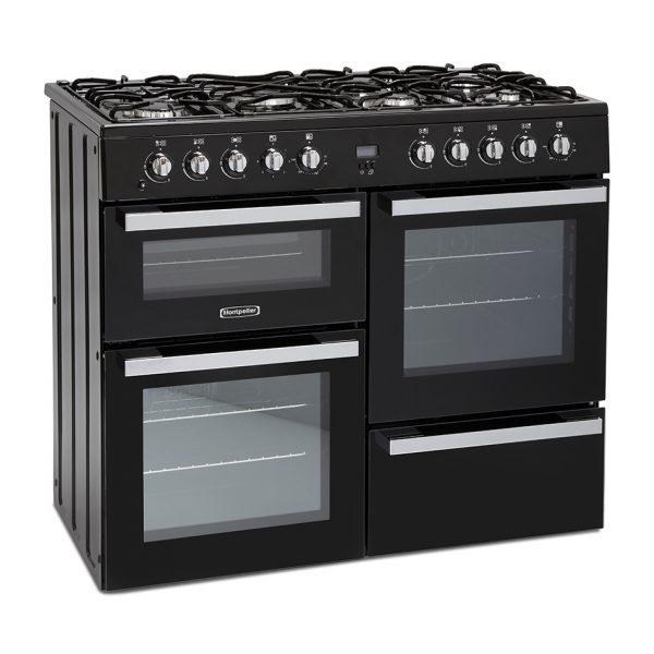 Montpellier MDF100K Dual Fuel Range Cooker