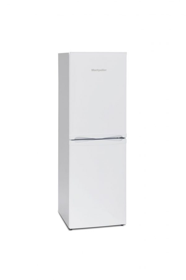 Montpellier MFF148W 48cm Frost Free Combi Fridge Freezer