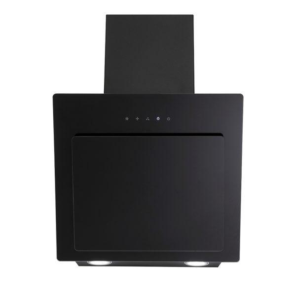 Montpellier MHD500BK Slanted Black Glass Hood 1