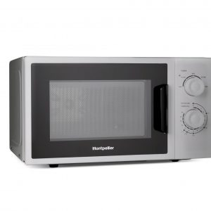 Montpellier MMW21SIL Solo Microwave in Silver