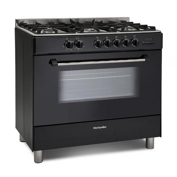 Montpellier MR91DFMK Dual Fuel Range Cooker 1