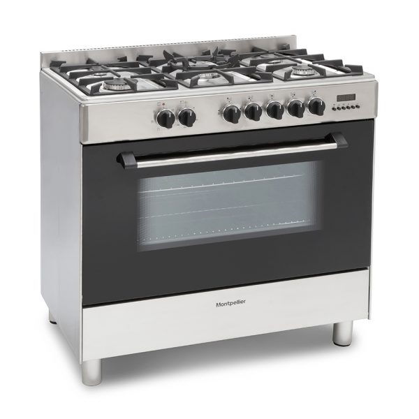 Montpellier MR91DFMX Dual Fuel Range Cooker