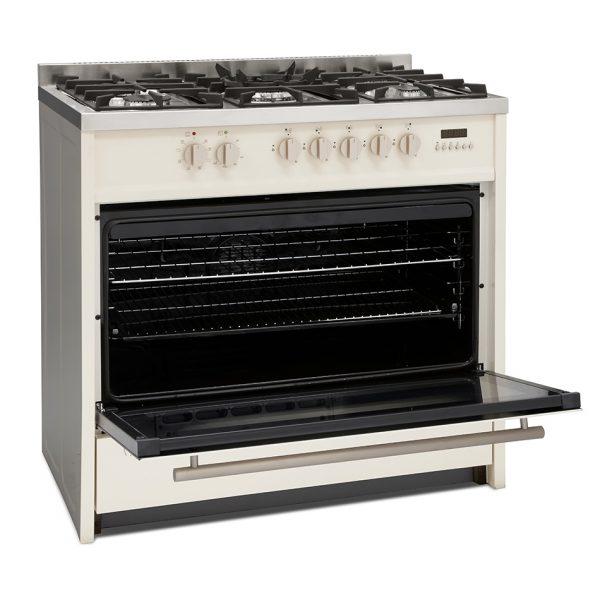 Montpellier MR95DFCR Dual Fuel Range Cooker 9