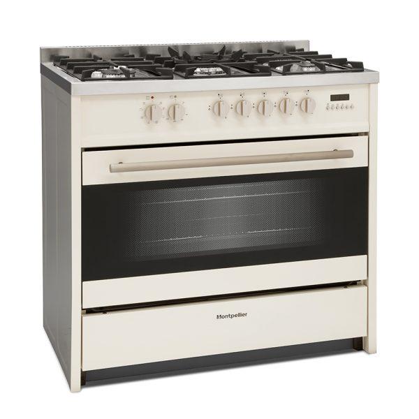 Montpellier MR95DFCR Dual Fuel Range Cooker 1