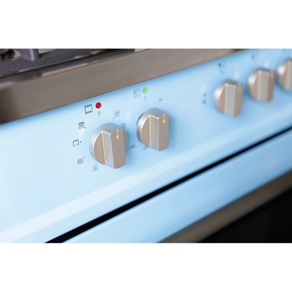 Montpellier MR95DFPB Dual Fuel Range Cooker 4