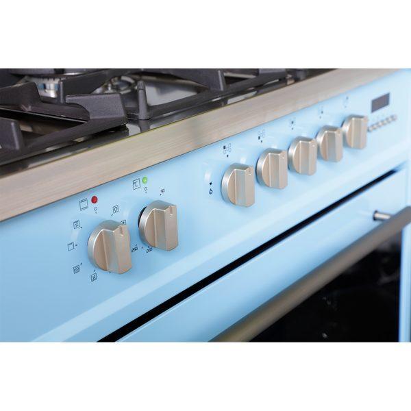 Montpellier MR95DFPB Dual Fuel Range Cooker 3