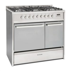 Montpellier MRT91DFMX Dual Fuel Range Cooker