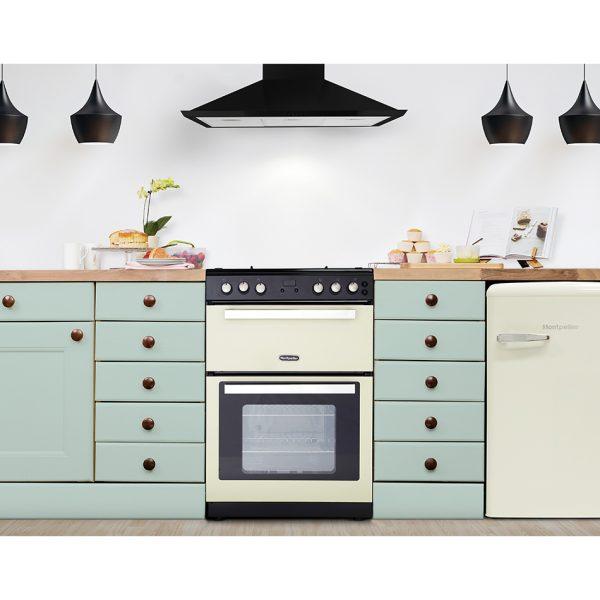 Montpellier RMC61GOC Gas Range Cooker 2