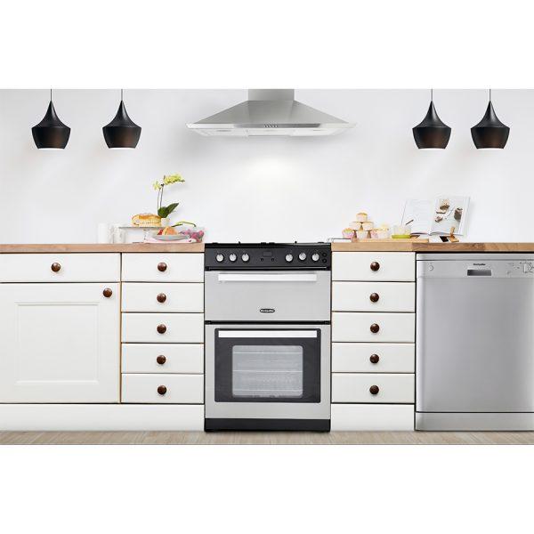 Montpellier RMC61GOX Gas Range Cooker 1