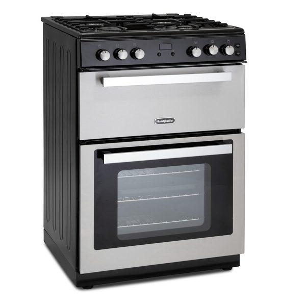 Montpellier RMC61GOX Gas Range Cooker 3