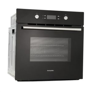 Montpellier SFO71MB Single Built-In Oven, Electric, Black