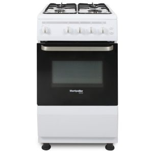 Montpellier Eco SCG50W 50cm Single Cavity Gas Cooker