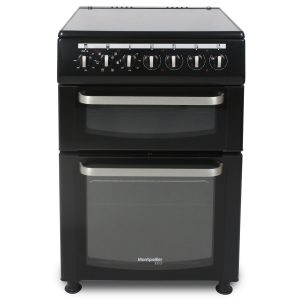 Montpellier Eco TCC60BK 60cm Twin Cavity Electric Cooker