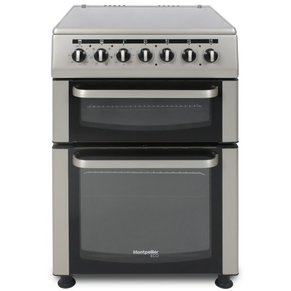 Montpellier Eco TCC60S 60cm Twin Cavity Electric Cooker