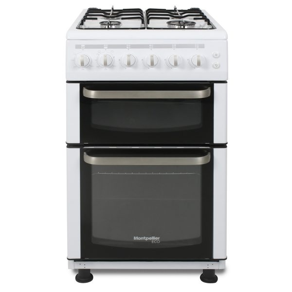 Montpellier Eco TCG50W 50cm Twin Cavity Gas Cooker