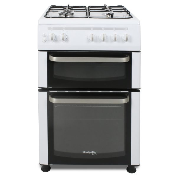Montpellier Eco TCG60W 60cm Twin Cavity Gas Cooker