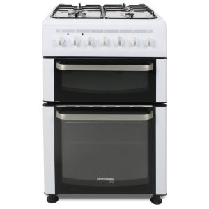 Montpellier Eco TDF60W 60cm Dual Fuel Twin Cavity Cooker