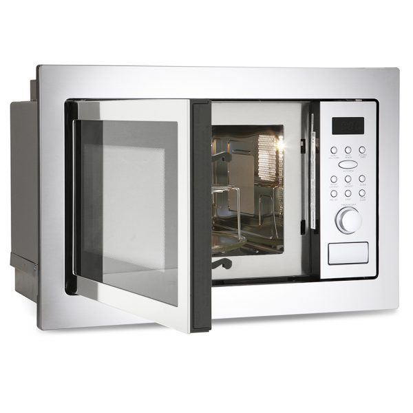 Montpellier MWBI90025 Built-In Microwave & Grill 1