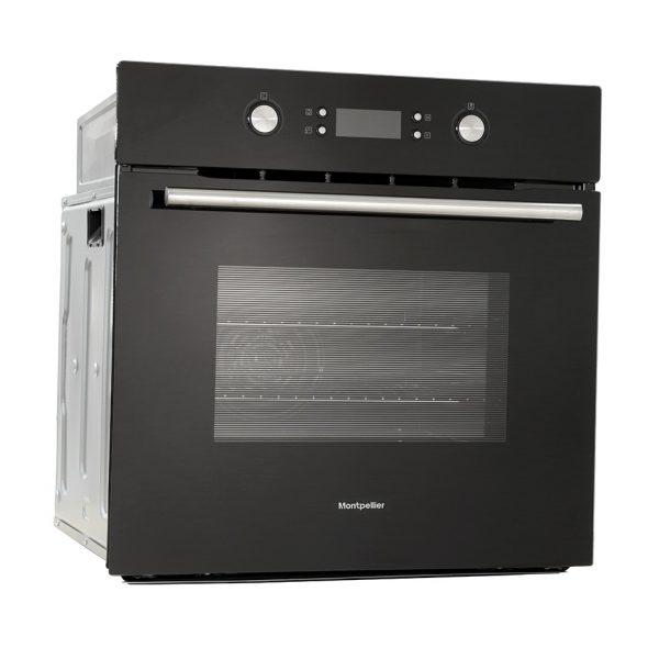 Montpellier SFO71MB Single Built-In Oven, Electric, Black 2