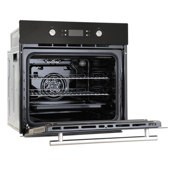 Montpellier SFO71MB Single Built-In Oven, Electric, Black 1