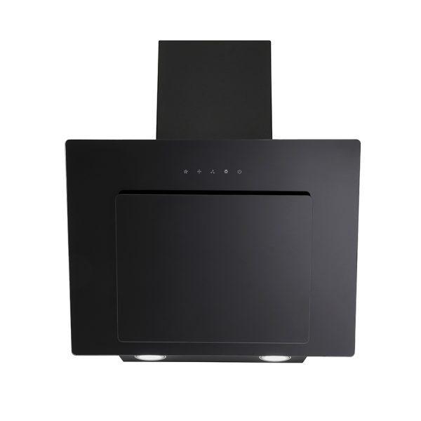 Montpellier MHD600BK Slanted Black Glass Hood 3