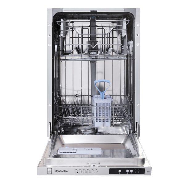 Montpellier MDI450-2 Slimline Integrated Dishwasher 1