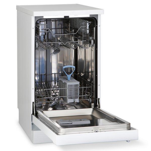 Montpellier DW1064P-2 Freestanding Slimline Dishwasher 2