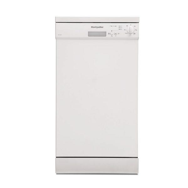 Montpellier DW1064P-2 Freestanding Slimline Dishwasher 1