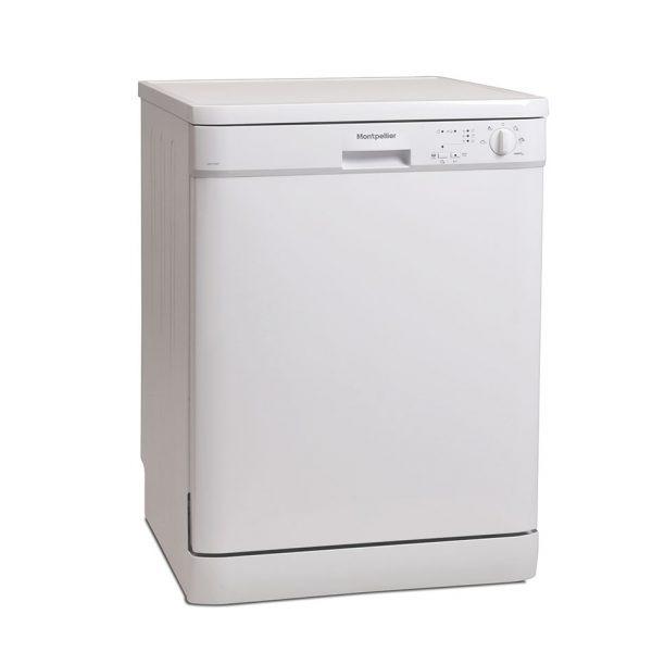 Montpellier DW1254P Freestanding Full Size Dishwasher 1