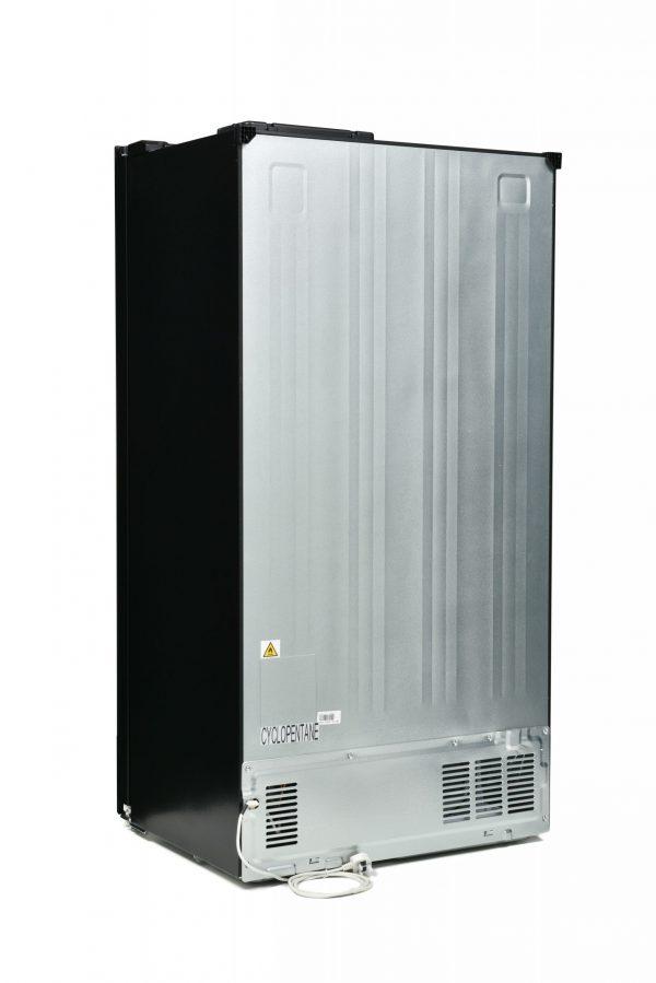 Montpellier M510BK Side-By-Side Fridge Freezer 3