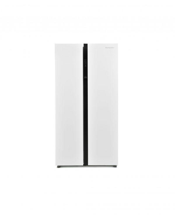Montpellier M510BW Side-By-Side Fridge Freezer 3