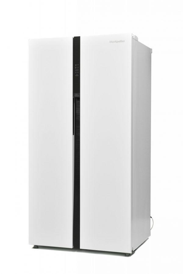Montpellier M510BW Side-By-Side Fridge Freezer 4
