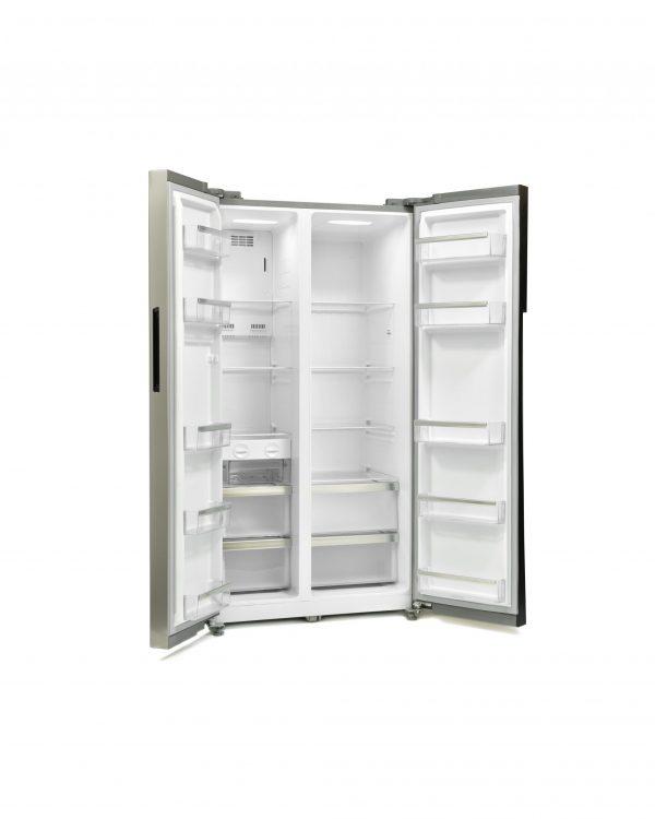 Montpellier M510BX Side-By-Side Fridge Freezer 1
