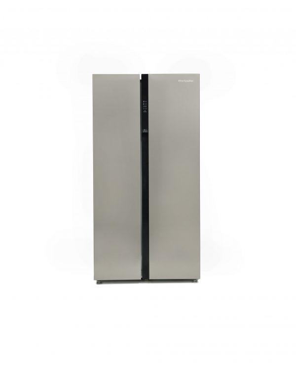 Montpellier M510BX Side-By-Side Fridge Freezer 3