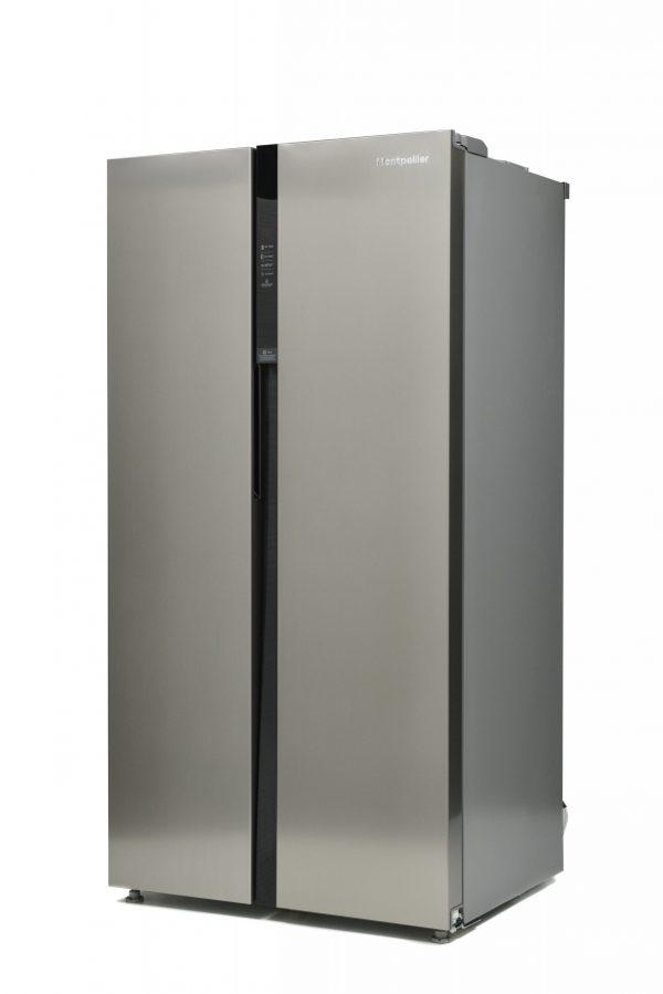 Montpellier M510BX Side-By-Side Fridge Freezer 4