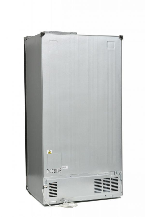 Montpellier M510BX Side-By-Side Fridge Freezer 5
