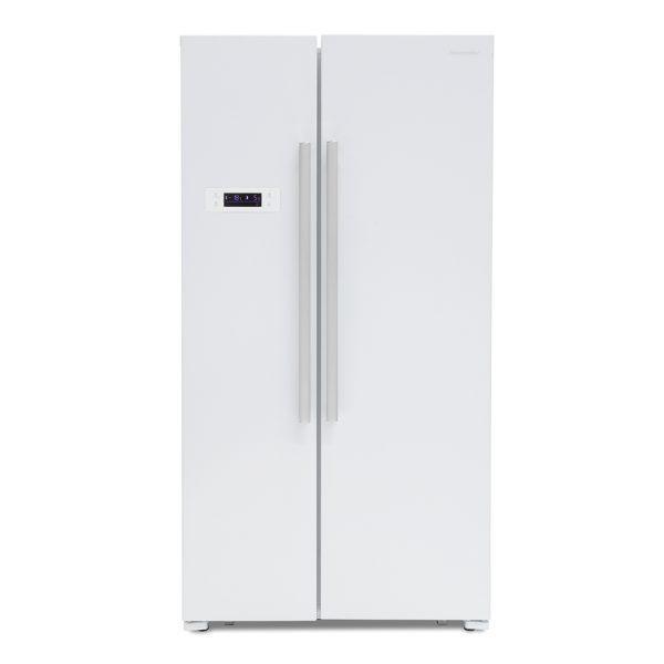 Montpellier M605W Side-By-Side Fridge Freezer 1