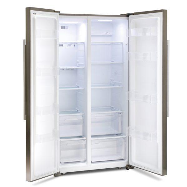 Montpellier M605X Side-By-Side Fridge Freezer 2