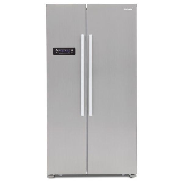 Montpellier M605X Side-By-Side Fridge Freezer 3