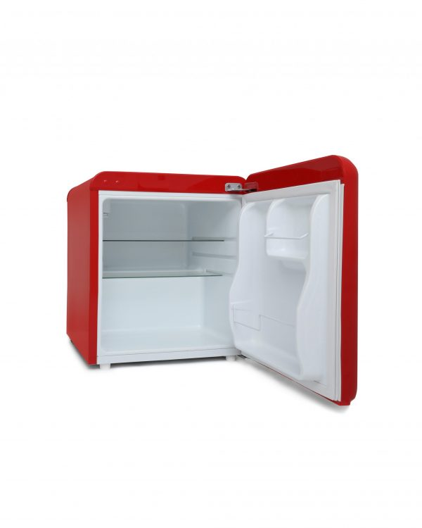 Montpellier MAB50R Table Top Retro Fridge – Red 2