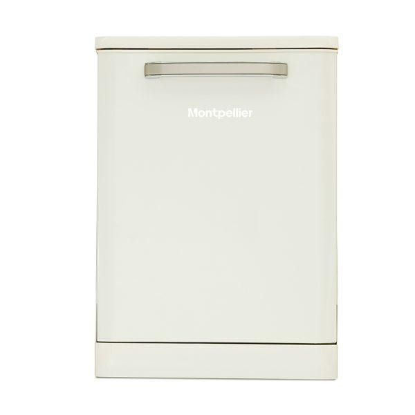 Montpellier MAB600C Retro Full Size Dishwasher 1