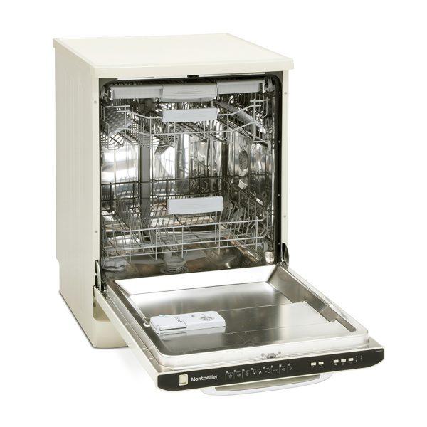 Montpellier MAB600C Retro Full Size Dishwasher 3